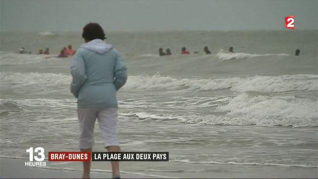 Plage de Bray-Dunes : Entre France et Belgique