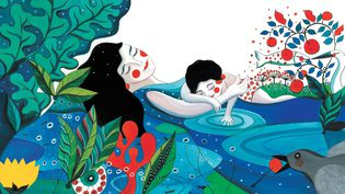 """Extrait de """"La déjeunite de Madame Mouche"""" de Fabienne Cinquin  (Fabienne Cinquin, 2013 / édition l'atelier du Poisson Soluble)"""