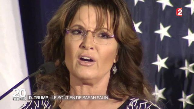 Etats-Unis : Sarah Palin rejoint le camp de Donald Trump