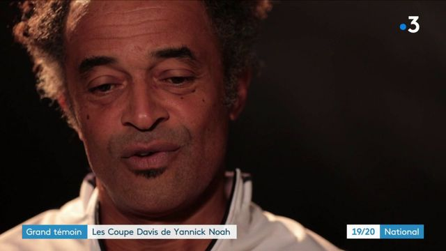 """Yannick Noah sur la Coupe Davis : """"Mon rêve c'est de gagner la dernière"""""""