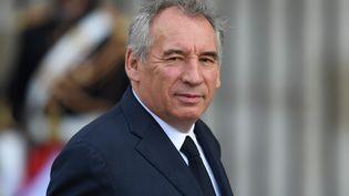 François Bayrou lors des obsèques de l'ancien président de la République Jacques Chirac le 30 septembre 2019 à Paris. (ERIC FEFERBERG / AFP)