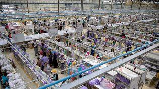 Une usine de textile à Addis-Abeba (Kay Nietfeld / dpa/ AFP)