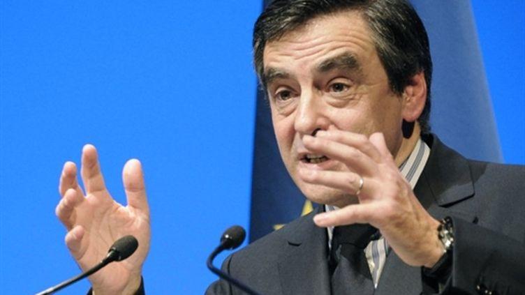 Le premier ministre François Fillon (AFP/DAMIEN MEYER)