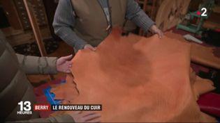 """L'Indre se donne jusqu'à la fin de l'année 2019 pour lancer un label """"cuir du Berry"""".  (FRANCE 2)"""