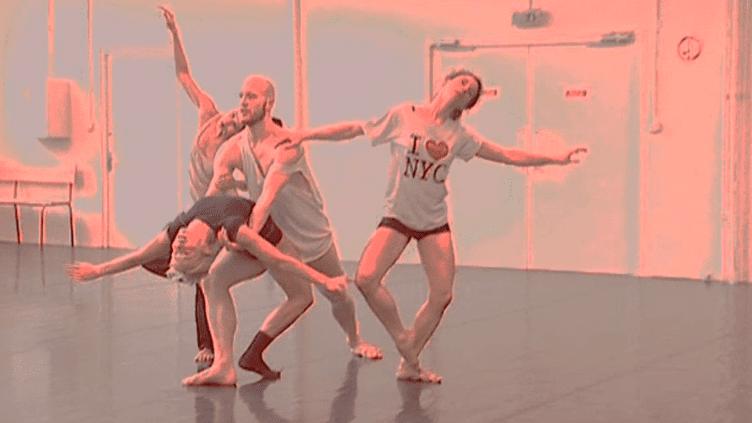 """Les Répétitions des danseurs du ballet de Lorraine pour le spectacle""""Paris New York, Paris""""  (France 3 / Culturebox)"""