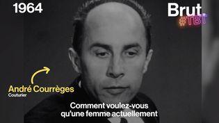 VIDEO. Quand Pierre Cardin et André Courrège débattaient sur le port du pantalon pour les femmes… en 1964 (BRUT)