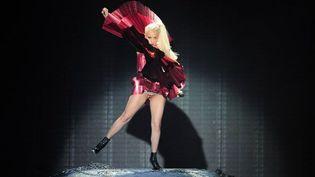 Lady Gaga aux MTV Europe Music Awards à Belfast (6 novembre 2011)  (Leon Neal / AFP)