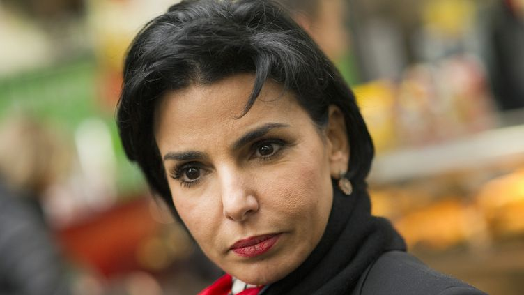 La maire du 7e arrondissement de Paris, Rachida Dati, le 23 février 2012 à Paris. (LIONEL BONAVENTURE / AFP)