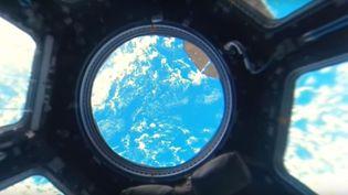 Capture d'écran d'une vidéo panoramique filmée depuis la Station spatiale internationale. (RT / YOUTUBE)