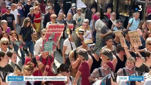 Manifestations anti-pass sanitaire : premier samedi de mobilisation après la rentrée