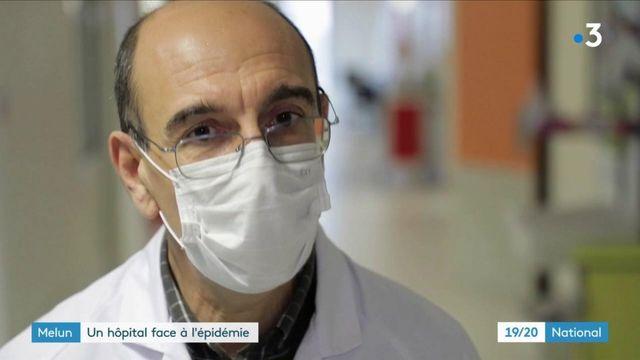 Coronavirus : le service de réanimation de l'hôpital de Melun en tension