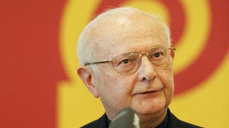 Mgr Robert Zollitsch, président de la conférence épiscopale allemande (22 février 2010). (AFP - Michael Latz)