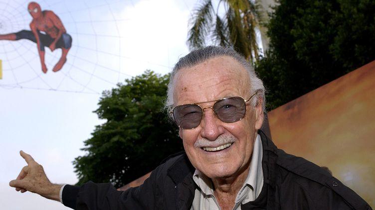 Stan Lee en 2004.  (VINCE BUCCI / Getty Images North America / AFP)