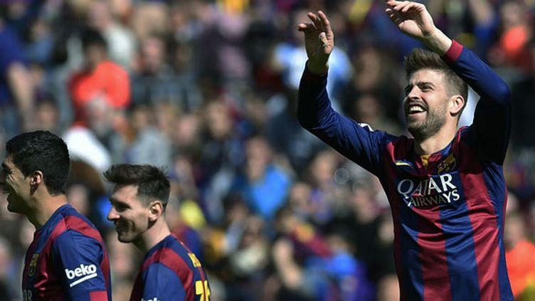 Le défenseur catalan Gerard Pique