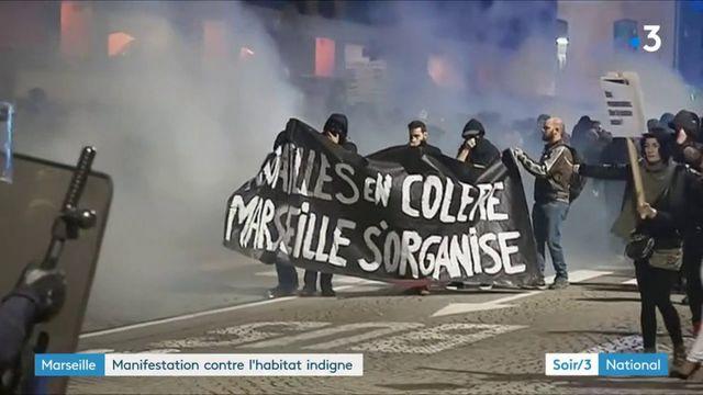 Marseille : 8 000 personnes manifestent contre le maire