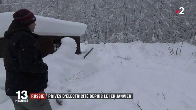 Russie : une région privée d'électricité depuis le 1er janvier