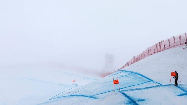 .Le brouillard perturbe les épreuves à Saint-Moritz