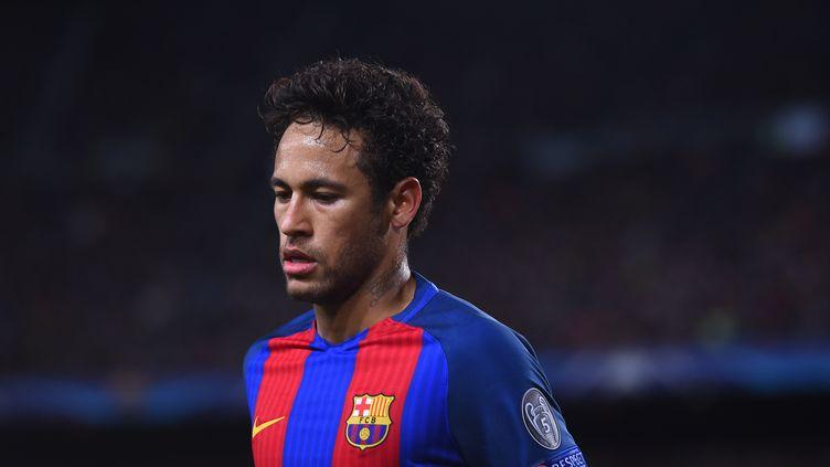 Le joueur du FC Barcelone, Neymar (JOSEP LAGO / AFP)