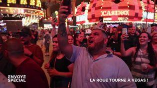 """""""C'est comme le jour où on a fêté la fin de la prohibition !"""" A Las Vegas, c'est la réouverture des casinos (ENVOYÉ SPÉCIAL  / FRANCE 2)"""