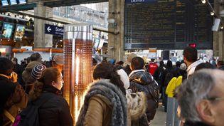 Dans la gare du Nord, à Paris, le 12 mars 2013. (A. GELEBART / 20 MINUTES / SIPA)