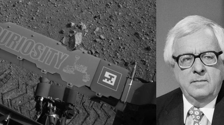 La zone d'atterrissage de Curiosity sur Mars dédiée à l ...