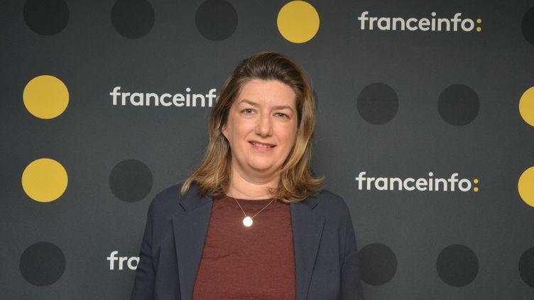 Tiphaine de Raguenel, directrice des programmes de France 4. (JEAN-CHRISTOPHE BOURDILLAT / RADIO FRANCE)
