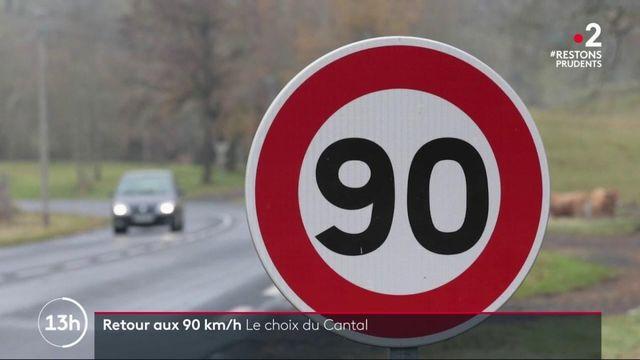 Retour aux 90 km/h : quel bilan dans le Cantal ?