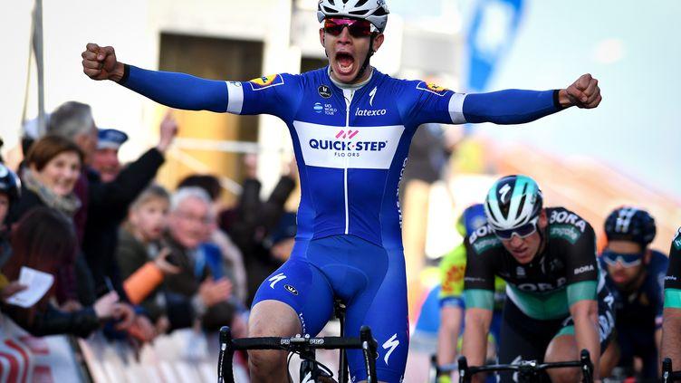 Alvaro Hodeg s'impose au sprint (DAVID STOCKMAN / BELGA)