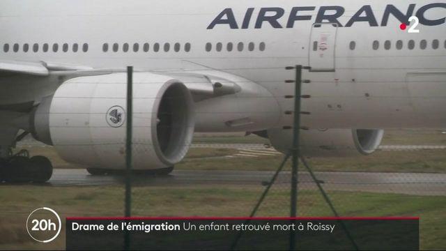 Drame de l'émigration : un enfant retrouvé mort à Roissy