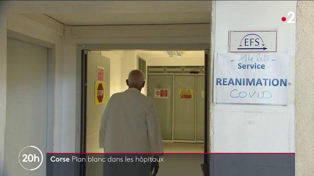 Covid-19 : le plan blanc déclenché dans les hôpitaux de Corse