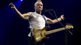 Sting en concert au Ziggo Dome d'Amsterdam, le 3 juillet3 2012. (PAUL BERGEN / AFP)