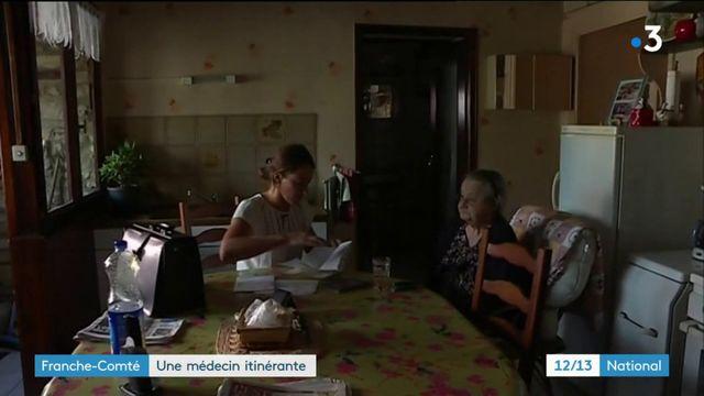 Franche-Comté : une médecin itinérante