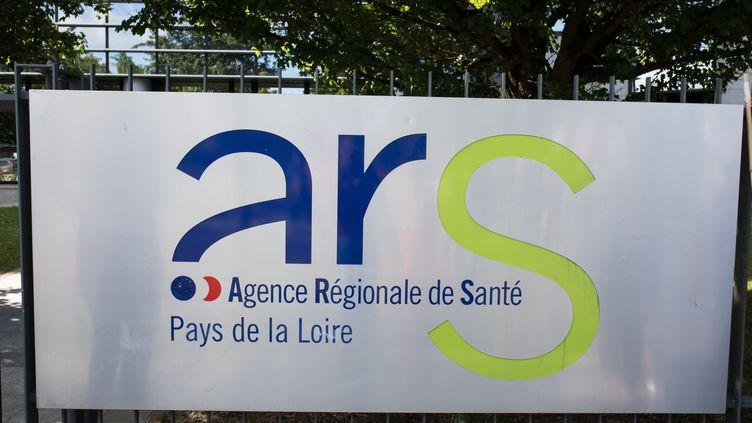 Le siège de l'ARS Pays de la Loire, le 21 mai 2019, à Nantes. (J?R?MIE LUSSEAU / HANS LUCAS / AFP)