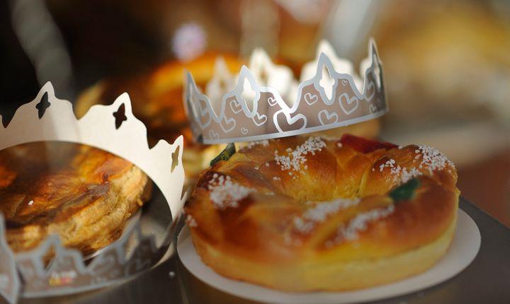 La couronne des rois est une brioche garnie de fruits confits. (MAXPPP)