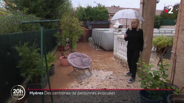 Intempéries : des centaines de personnes évacuées à Hyères
