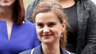 La députée britannique Jo Cox, photographiée le 12 mai 2015 au palais de Westminster, à Londres. (REUTERS)