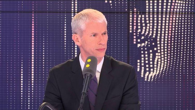 Franck Riester, ministre de la Culture mercredi 29 mai 2019. (FRANCEINFO)