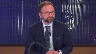 Patrick Mignola, président du groupe MoDem à l'Assemblée nationale, invité de franceinfo le 14 juillet 2021. (FRANCEINFO / RADIO FRANCE)