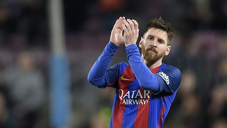 Lionel Messi (FC Barcelone) (LLUIS GENE / AFP)