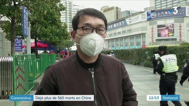 Coronavirus 2019-nCoV : plus de 560 morts en Chine