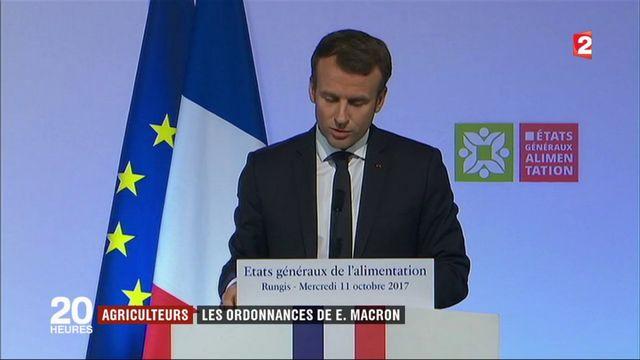 Emmanuel Macron promet une loi pour mieux rémunérer les agriculteurs