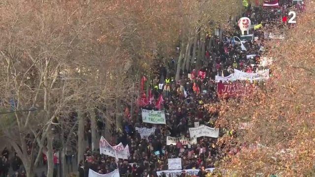 Grève du 10 décembre : à Paris, la mobilisation en baisse