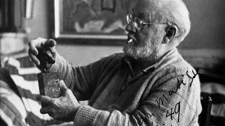 Photo prise en décembre 1949 du peintre et sculpteur français Henri Matisseà Nice (STAFF / AFP)