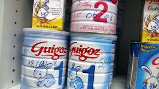 Du lait en poudre pour nourissons Guigoz  (LE REPUBLICAIN LORRAIN/MAXPPP)