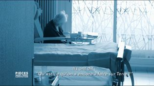"""Pièces à conviction. Dans les Ehpad, affirme ce médecin, """"il y a eu beaucoup de décès de personnes âgées qui sont mortes de chagrin"""" (PIÈCES A CONVICTION / FRANCE 3)"""