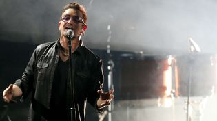 Bono, le chanteur du groupe U2, en novembre 2015, à Berlin  (Wolfgang Kumm/AP/SIPA)