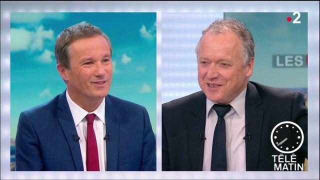 """Nicolas Dupont-Aignan : """"Le mouvement des gilets jaunes n'appartient à aucun homme politique, il vient du peuple"""""""