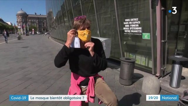 Coronavirus : le masque bientôt obligatoire ?