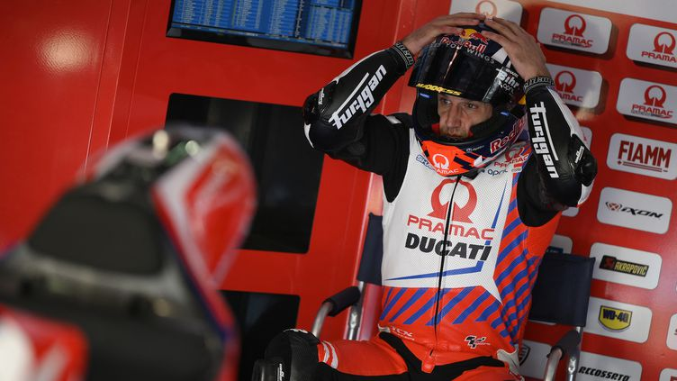 Johann Zarco lors des essais de pré-saison au Qatar, le 6 mars 2021. (GIGI SOLDANO / STDIO)