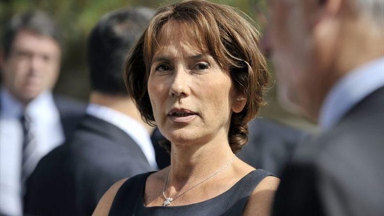 Chantal Brunel, députée de la 8ème circonscription de Seine-et-Marne, le 6 juin 2010. (AFP PHOTO / BERTRAND LANGLOIS)